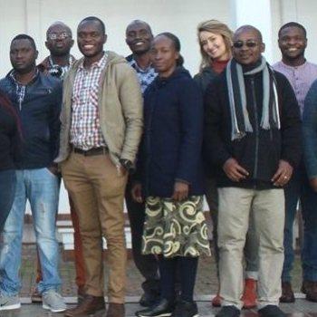 SRU PhD student at the SASAC Capacity Development Programme 2018